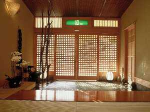 露天風呂付客室のある宿 【万葉の里 白雲荘】