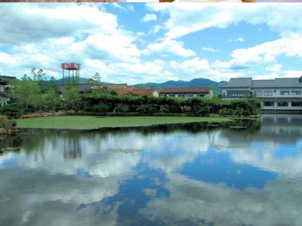 東郷温泉 湖泉閣養生館 湖を独り占め 24時間無料貸切露天風呂