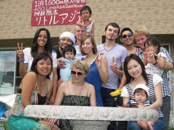 熊本ゲストハウス リトルアジア